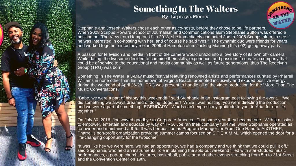 Hampton University - Something In The Walters